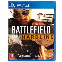 Battlefield Hardline: Totalmente em Português - Seminovo - PS4