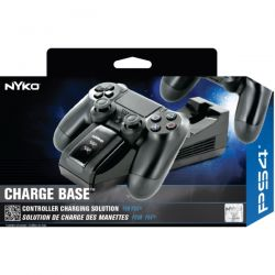 Nyko Charge Base - Carregador para até 2 Controles - PS4