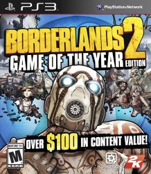 Borderlands 2: Game of the Year Edition - PS3