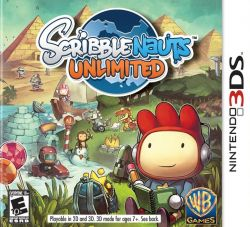 Scribblenauts Unlimited - Seminovo - Nintendo 3DS