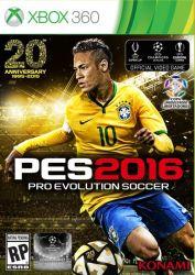 PES 16 - Pro Evolution Soccer 2016 - Xbox 360