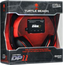 Headset Ear Force Turtle Beach DP11 Dolby Surround Sound - PS3 / PS4 / PC / MAC