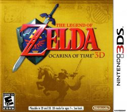 The Legend of Zelda: Ocarina of Time - Seminovo - Nintendo 3DS
