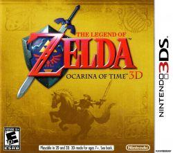 The Legend of Zelda: Ocarina of Time - Seminovo - Nintendo 3DS