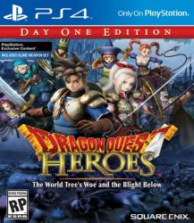 Dragon Quest: Heroes - Day One Edition - PS4