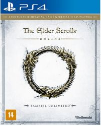 The Elder Scrolls Online: Tamriel Unlimited - Seminovo - PS4