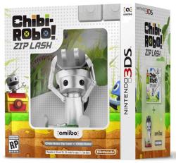 Chibi-Robo:! Zip Lash + Amiibo Chibi Robo (Bundle) - Nintendo 3DS
