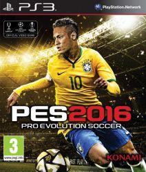 PES 16 - Pro Evolution Soccer 2016 - Seminovo - PS3