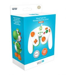 Fightpad Wired Yoshi Game Cube Edition - Wii U