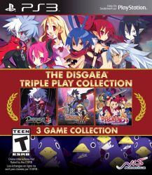The Disgaea : Triple Play Collection - PS3