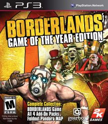 Borderlands: Game of the Year Edition - PS3