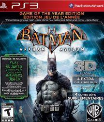 Batman Arkham Asylum - Seminovo - PS3