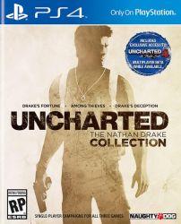 Uncharted: The Nathan Drake Collection - Seminovo - PS4