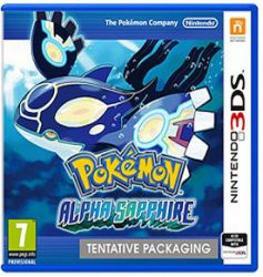Pokemon Alpha Sapphire - Seminovo - Nintendo 3DS N3DS