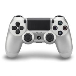 Controle DualShock 4 Silver Edition Prata - PS4