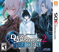 Shin Megami Tensei: Devil Survivor 2 Record Breaker - Seminovo - Nintendo 3DS