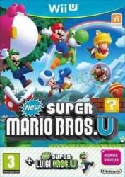 New Super Mario Bros. U & Super Luigi - Seminovo - Wii U