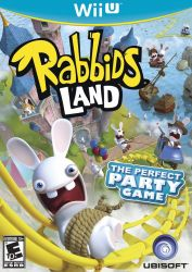 Rabbids Land - Seminovo - Wii U