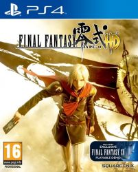 Final Fantasy Type-0 HD - Seminovo - PS4