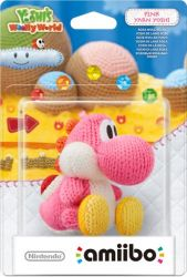 Amiibo: Yoshi Yarn Pink - Wii U