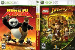 Dual Pack : LEGO Indiana Jones + Kung Fu Panda - Xbox 360