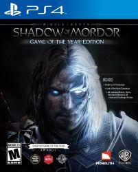 Terra Média: Sombras de Mordor - Game of the Year - Seminovo - PS4