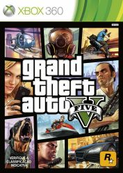 Grand Theft Auto V - GTA 5 - Seminovo - Xbox 360