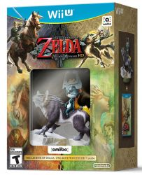 The Legend of Zelda: Twilight Princess HD + Amiibo Wolf Link - Wii U