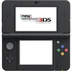 New Nintendo 3DS XL Console Preto (Metallic Black) - Seminovo