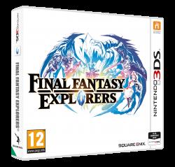 Final Fantasy Explorers - Nintendo 3DS