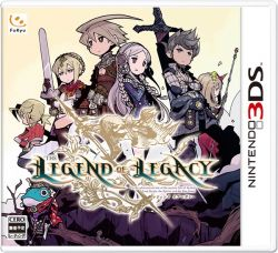 The Legend of the Legacy - Nintendo N3DS