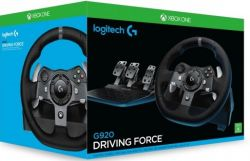 Volante G920 - Driving Force - Logitech - Xbox One / PC