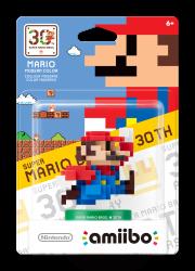 Amiibo: Mario Classic Pixel 30 Anos - Wii U / Nintendo 3DS
