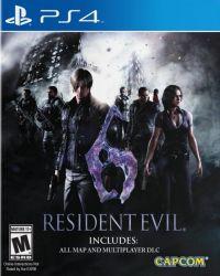 Resident Evil 6 - Seminovo - PS4