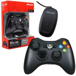 Controle Wireless c/ Adaptador PC - Xbox 360