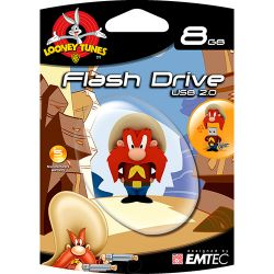 Pen Drive - Looney Tunes - Yosemite 8Gb - Emtec