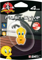 Pen Drive Looney Tunes - Piu-Piu 4Gb - Emtec