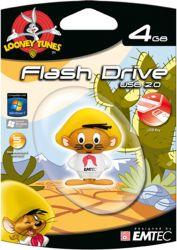Pen Drive Looney Tunes - Ligeirinho 4Gb - Emtec