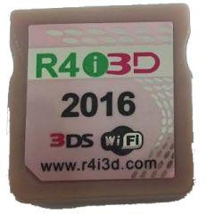 R4i 3D  + Cartão microSD 16gb c/ 200 brindes (Funciona até a Versão 11.0.0-33U)