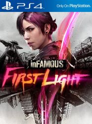 inFamous: First Light - Seminovo - PS4