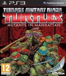 Teenage Mutant Ninja Turtles: Mutants in Manhattan - PS3