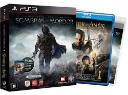 Middle-Earth: Shadow of Mordor + Filme O Senhor dos Anéis: O Retorno do Rei - PS3
