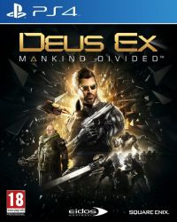 Deus Ex: Mankind Divided - Edição Day One - PS4