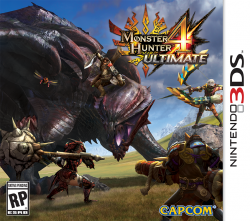 Monster Hunter 4 Ultimate - Seminovo - Nintendo 3DS