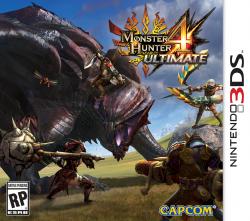 Monster Hunter 4 Ultimate - Seminovo - Nintendo 3DS (S/ Case)