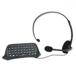 Teclado Chatpad Original Microsoft - Seminovo - Xbox 360