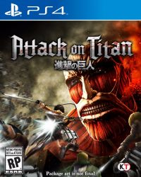 Attack on Titan (Shingeki no Kyojin) - PS4