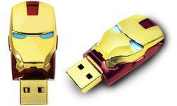 Pen Drive Iron Man (Cabeça) - 16 GB