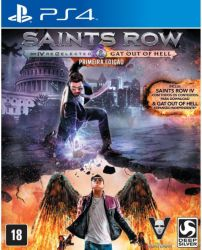 Saints Row IV: Re-Elected - First Edition - Seminovo - PS4