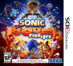Sonic Boom: Fire & Ice - Launch Edition - 3DS